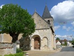 Eglise Saint-Vincent - Français:   Eglise de Saint-Vincent-Jalmoutiers, Dordogne, France