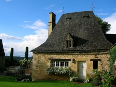 Château ou manoir d'Eyrignac - English: Eyrignac Manor, in Dordogne (France)