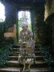 Château ou manoir d'Eyrignac - English: Statuette called