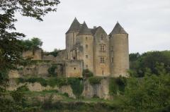 Château de Salignac - Français:   Le château fort des Salignac-Fènelon. Août 2005.