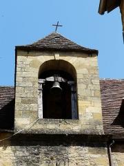 Chapelle des Pénitents Bleus ou chapelle Saint-Benoît - Français:   Clocher de la chapelle Saint-Benoît (ou des Pénitents bleus), Sarlat-la-Canéda, Dordogne, France.