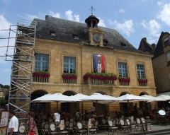 Hôtel de ville - English: Sarlat-la-Canéda, Dordogne, FRANCE