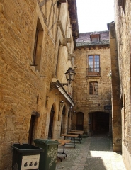 Maison à colombages - English: Sarlat-la-Canéda, Dordogne, FRANCE