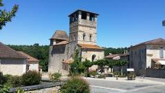 Eglise Saint-Pierre-ès-Liens - Français:   EGLISE DE SIORAC DE RIBERAC