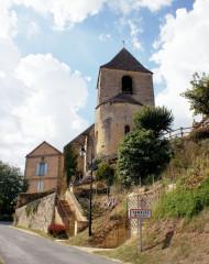 Eglise Saint-Cybard - Français:   Tamniès