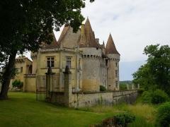 Château de Marzac - Deutsch: Schloss Marzac (Ostansicht)