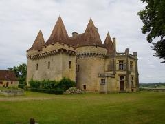 Château de Marzac - Deutsch: Schloss Marzac (Südansicht)