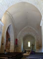 Eglise Saint-Martin - Français:   Vitrac - Eglise Saint-Martin - Nef et chapelle nord