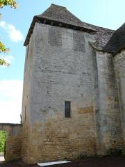 Eglise Saint-Martin - Français:   Vitrac - Eglise Saint-Martin - Chevet