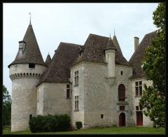 Domaine du Château de Bridoire - Français:   Domaine du château de Bridoire, village de Ribagnac, département de la Dordogne