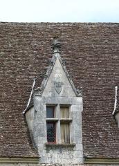 Domaine du Château de Bridoire - Français:   Domaine du château de Bridoire, village de Ribagnac, département de la Dordogne - Chien-assis