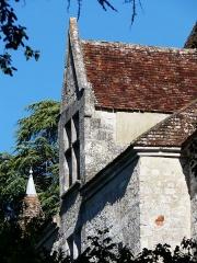Domaine du Château de Bridoire - Français:   Une fenêtre à meneaux du château de Bridoire, Ribagnac, Dordogne, France