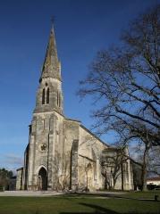Eglise paroissiale Saint-Germain - Français:   Église d\'Arsac