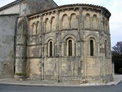 Eglise Saint-Saturnin - English: Église Saint-Saturnin de Bégadan