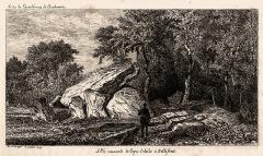 Dolmens - English: Dolmen of Bellefond (Gironde, France)