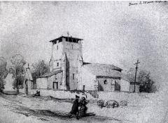Eglise Saint-Laurent de Birac - French historian, archaeologist and engraver
