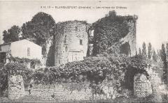Château de Duras - English: Ruine du château Duras