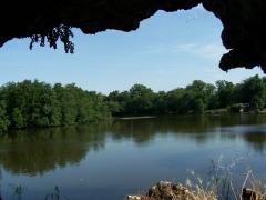 Parc et Grotte de Majolan -  Le lac