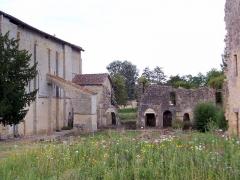 Ancienne église abbatiale Saint-Maurice, actuelle église Saint-Nicolas - Abbaye de Blasimon (Gironde, France)