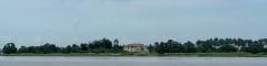 Fort Paté - Français:   Fort Paté, vu de la Gironde.