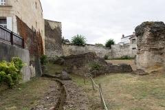 Restes de l'amphithéatre dit Palais Gallien - Français:   Arènes de Bordeaux; délimitation.