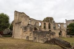 Restes de l'amphithéatre dit Palais Gallien - Français:   Arènes de Bordeaux; côté sud du vomitoire nord-ouest.