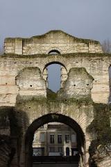 Restes de l'amphithéatre dit Palais Gallien - Deutsch: Palais Gallien, Amphitheater aus dem 3. Jh. n. Chr., in Bordeaux (Region Aquitanien, Frankreich)
