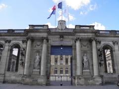 Palais de Rohan (ancien archevêché, actuel Hôtel de ville) - Hôtel de ville (ancien palais Rohan) à Bordeaux (Gironde, France).