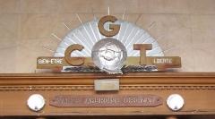 Bourse du Travail - Français:   Bordeaux Bourse du Travail art déco entrée salle Ambroize Croizat
