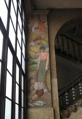Bourse du Travail - Français:   Bordeaux Bourse du Travail fresque de Camille de Buzon