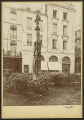 Croix de l'ancien cimetière Saint-Projet -