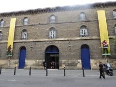 Ancien Entrepôt, dit Entrepôt Lainé - English: CAPC - Musée d'art contemporain de Bordeaux, Entrepôt Lainé, Rue Ferrère, Bordeaux, July 2014