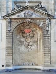 Fontaine - English: Bordeaux Saint Projet fountain.