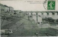 Gare de Bordeaux-Bastide ou ancienne gare d'Orléans - Débarcadère de la gare d'Orléans à Bordeaux-Bastide