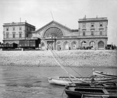 Gare de Bordeaux-Bastide ou ancienne gare d'Orléans - English: Gare de Bordeaux-Bastide (1ère moitié du XXe s.)