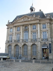 Hôtel des Douanes -  Hôtel des douanes de Bordeaux, 1 place de la bourse.