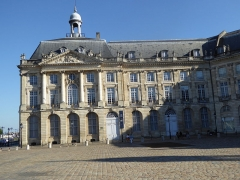 Hôtel des Douanes - English: Hôtel des Douanes, Place de la Bourse, Bordeaux, France, July 2014