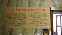 Ancien Hôtel de l'Octroi, dit Hôtel de Ragueneau - English: Hôtel des sociétés savantes attached to Hôtel de Ragueneau