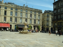 Place du Parlement - English: Bordeaux - July 2012