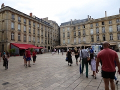 Place du Parlement - English: Place du Parlement, Bordeaux, France, July 2014