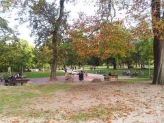 Jardin public - Français:   Aperçu du Jardin Public de Bordeaux. 29 octobre 2014.