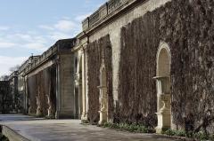 Jardin public - Deutsch: Jardin public in Bordeaux (Region Aquitanien, Frankreich), Galerie der ehemaligen Treibhäuser