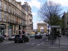 Porte de Bourgogne -  Porte de Bourgogne (Porte des salinières) Bordeaux (Gironde, Aquitaine, France) (porte de ville/arc de triomphe)