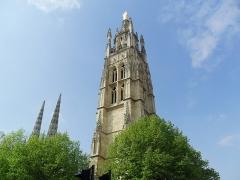 Tour Pey-Berland -  Tour Pey Berland de la cathédrale Saint-André de Bordeaux (33).