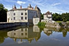 Domaine connu sous le nom de Domaine de Montesquieu ou château de La Brède - English: Chateau Montesquieu at La Brede. The feudal castle once belonging to Montesquieu