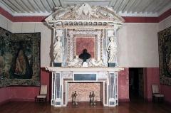 Château des Ducs d'Epernon, actuellement Musée historique et iconographique - English: Château de Cadillac Gironde
