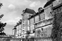 Château des Ducs d'Epernon, actuellement Musée historique et iconographique -  Château de Cadillac, France.