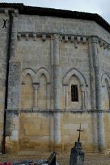 Eglise Saint-Saturnin - Français:   Camarsac église Saint-Saturnin