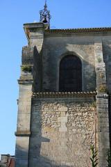 Eglise Saint-Symphorien - English: Castillon-la-Bataille: church roof