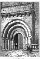 Eglise Saint-Martin - English: Saint Martin church of Coirac (Gironde, France)